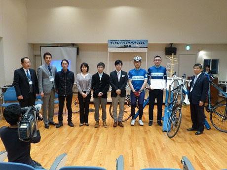 サイクルラックデザインコンテンスト表彰式の開催